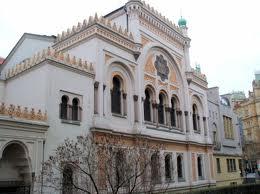 Sinagoga en Josefov, barrio judio de PRAGA