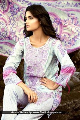 Sapphire Eid 2015 Lawn Dresses by Khadijah Shah