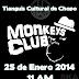 Los Monkeys Club Official en Tianguis Cultural del Chopo Sabado 25 de Enero 2014