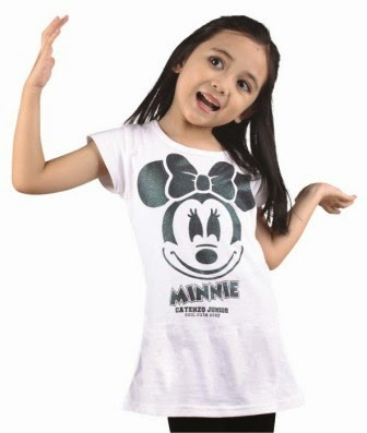 KAOS ANAK MINNIE