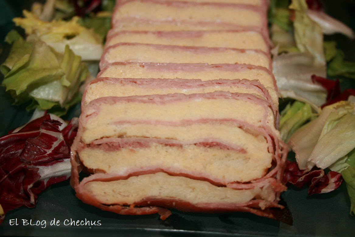 elblogdechechus, Chechus cupcakes, pastel de jamon