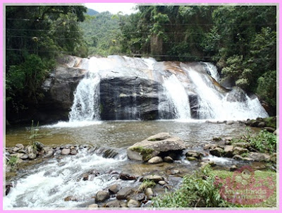 Cachoeira do Rio Grande em Visconde de Mauá