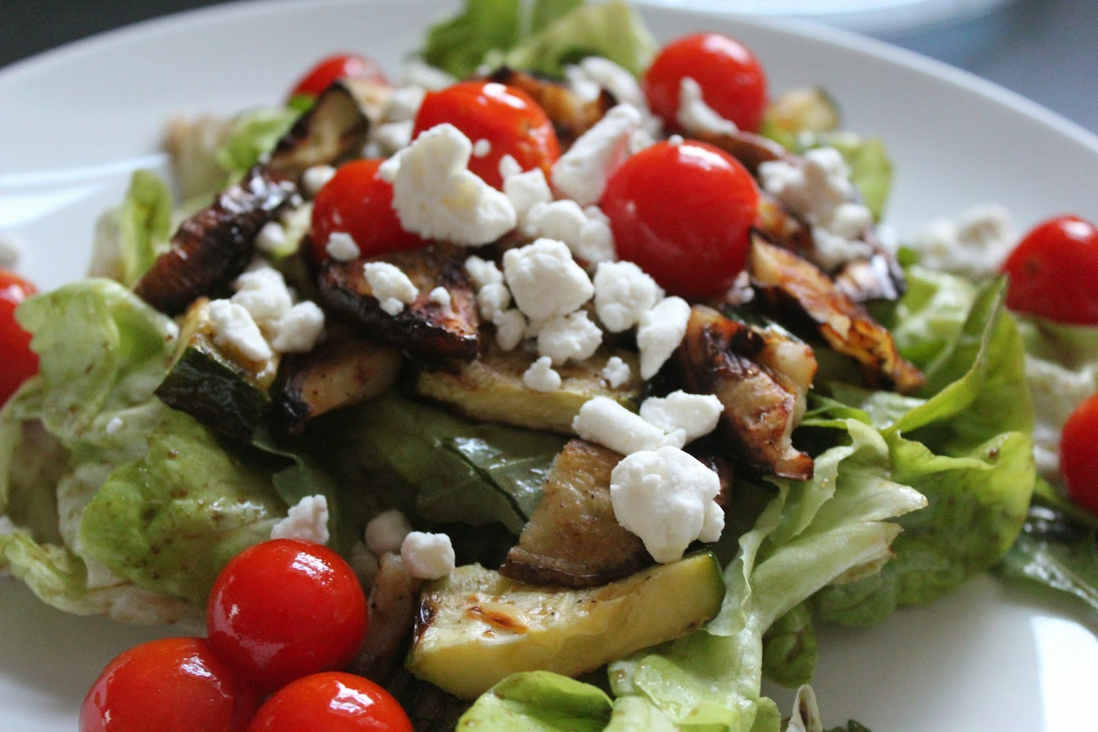 Delicious Dishings: Grilled Vegetable Salad