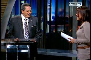 مايا دياب تغازل محمود سعد على الهواء