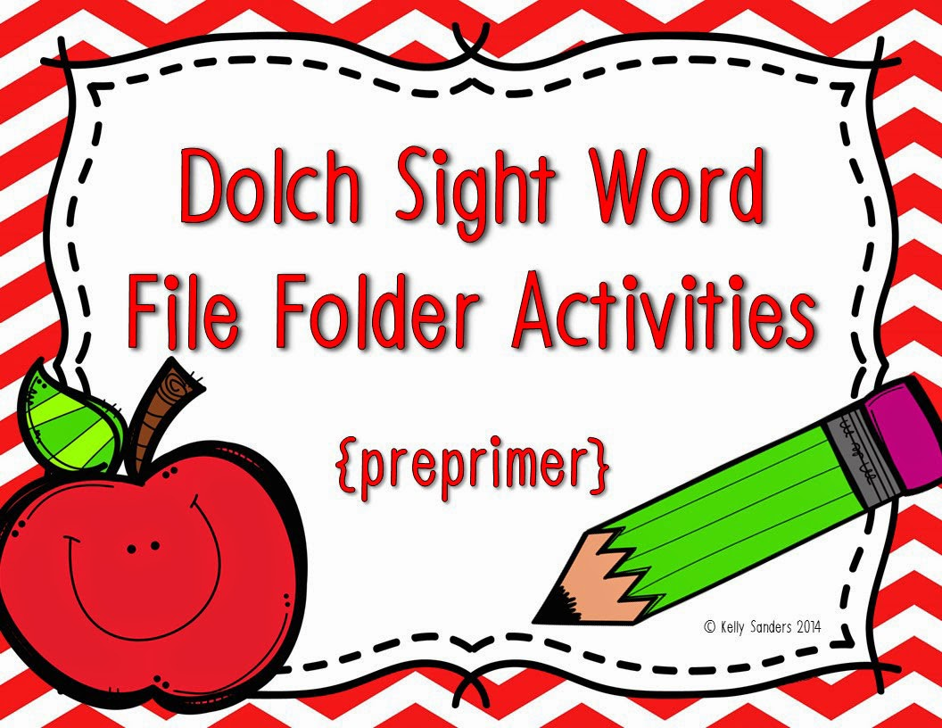 http://www.teacherspayteachers.com/Product/Dolch-Sight-Word-File-Folder-Activities-Preprimer-Level-1359840