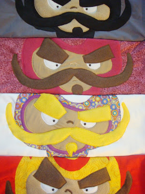 luchadores pillow covers