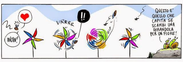 Cius - Questo è quello che capita se scambi una girandola per un fiore!