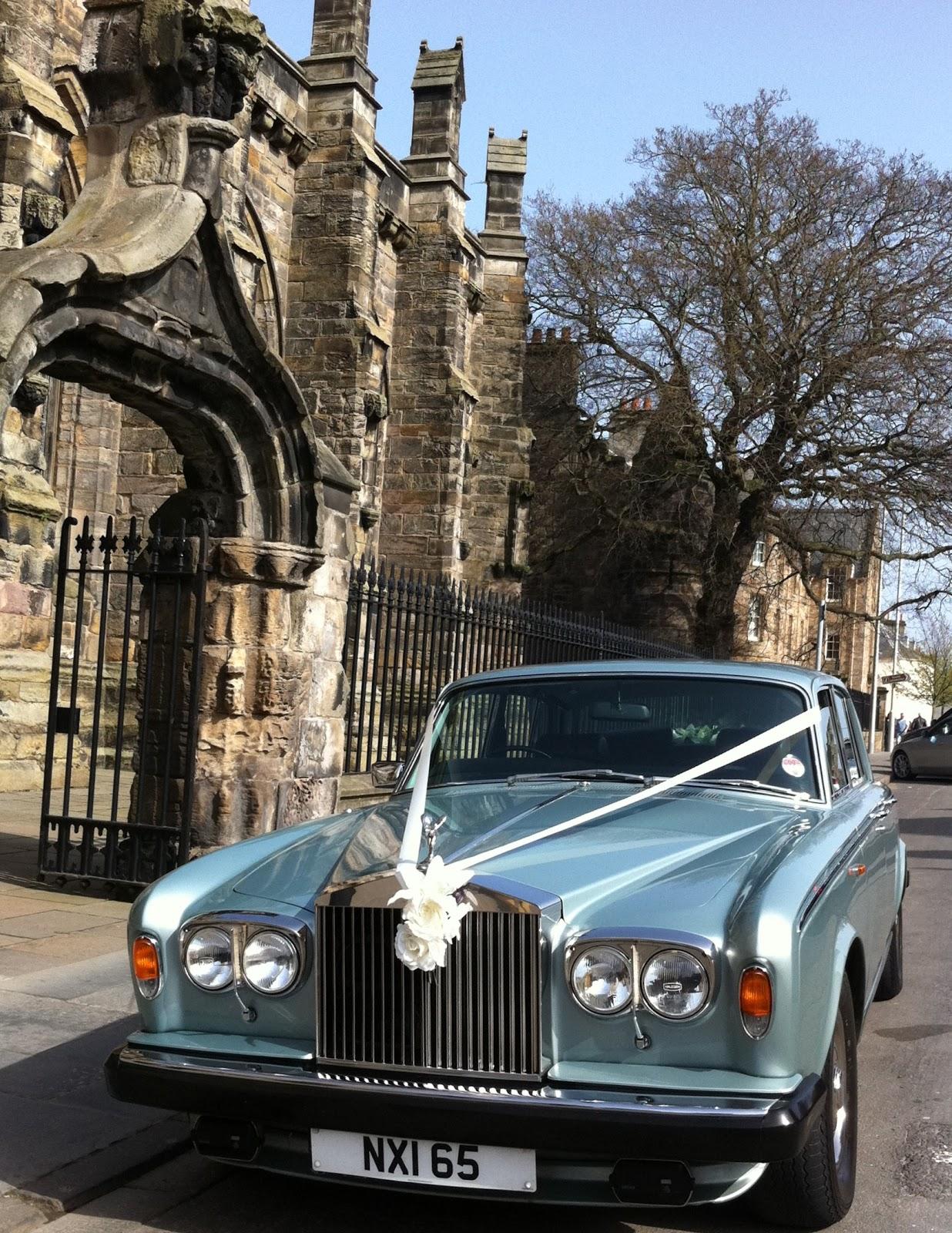 Wedding Car Hire Glenrothes