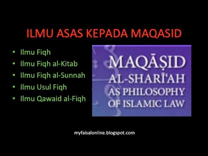 4 Ilmu Asas Kepada al-Maqasid Al-Syariyyah