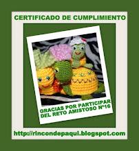 Certificado de Cumplimiento...!!!