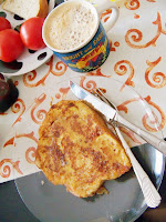 Rezept: Schneller French Toast (Arme Ritter) / Recipe: Easy French Toast | http://panpancrafts.blogspot.de/