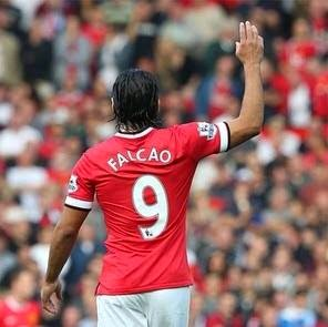 Falcao looks all but certain to say 'adiós' to Old Trafford in the summer ...