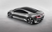 Acura NSX Supercar top