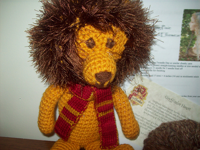 Amigurumi Lion Free : CROCHET WITH FUN FUR PATTERNS - Crochet Club
