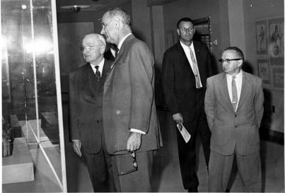 President Truman Secret Service- with LBJ & SA Stu Knight