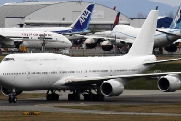 Pesawat Boeing 747-8 Intercontinental VIP. ZonaAero