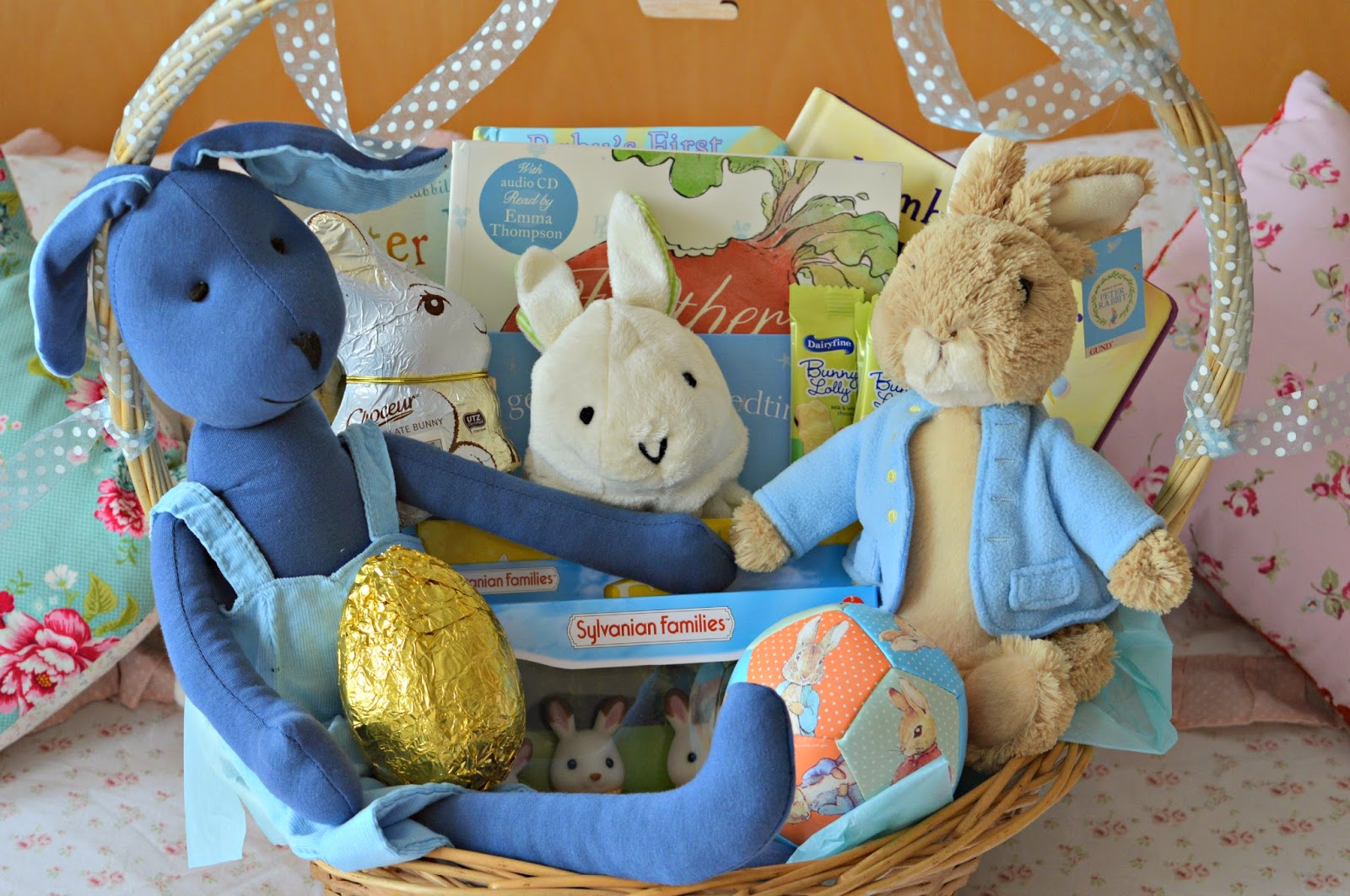 Tyler lees easter basket peter rabbit books bunnies this basket was relatively cheap for me i think i only spent about 20 of my own money buying things for it as i had vouchers and credit available for the negle