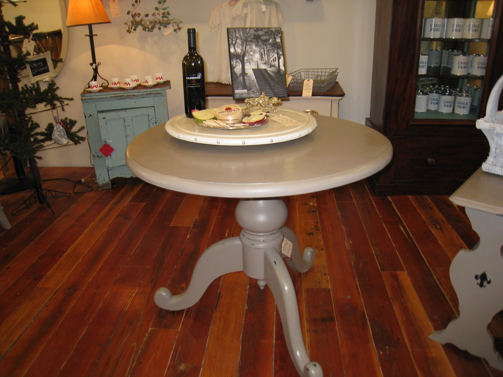Kitchen Foyer Table : A french touch sold library kitchen foyer pedestal table