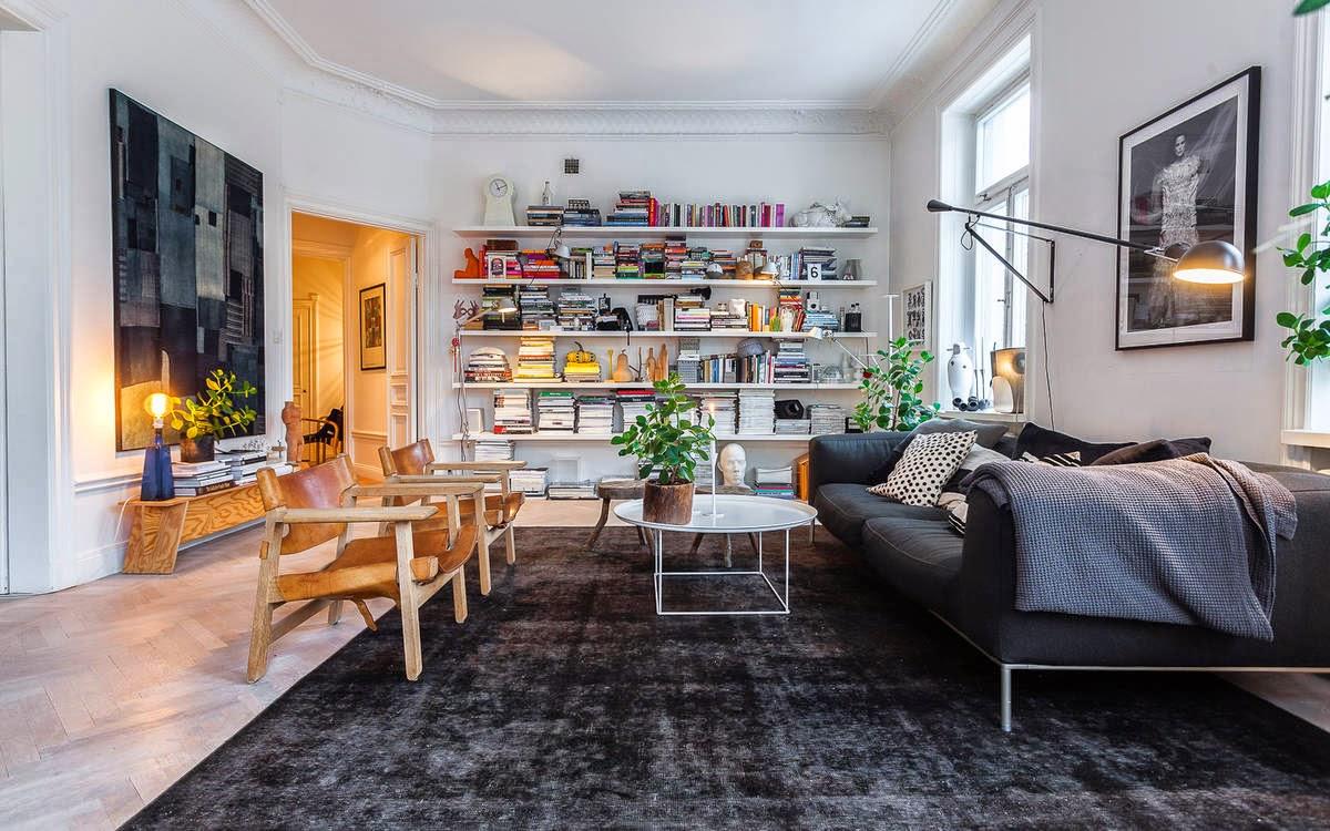 Casa de magnolia: lägenhet till salu på odengatan 35.