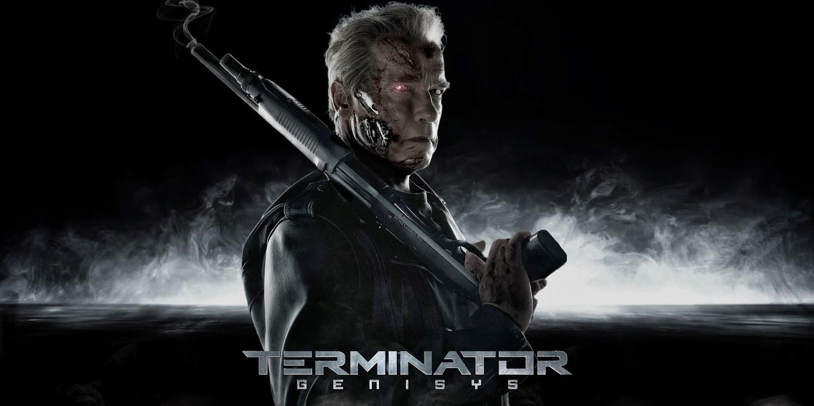O Exterminador do Futuro: Gênesis ganha cartaz animado com Schwarzenegger