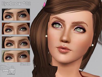 Katy Perry Eyebrows on The Sims 3 Objetos   Objetos  Casas  Roupas  Cabelos      Mar  O 2012