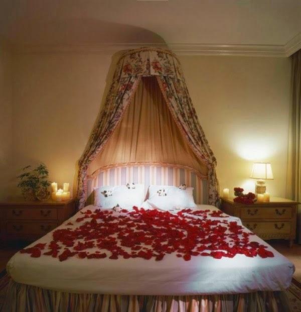 romantic wedding room freshnist design