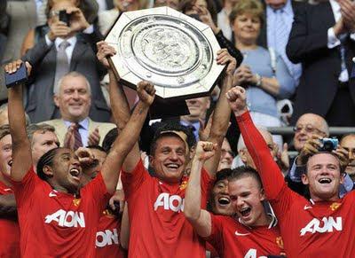 Manchester United v Manchester City Community Shield