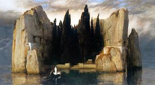 Arnold Böcklin, La isla de los muertos (1883)