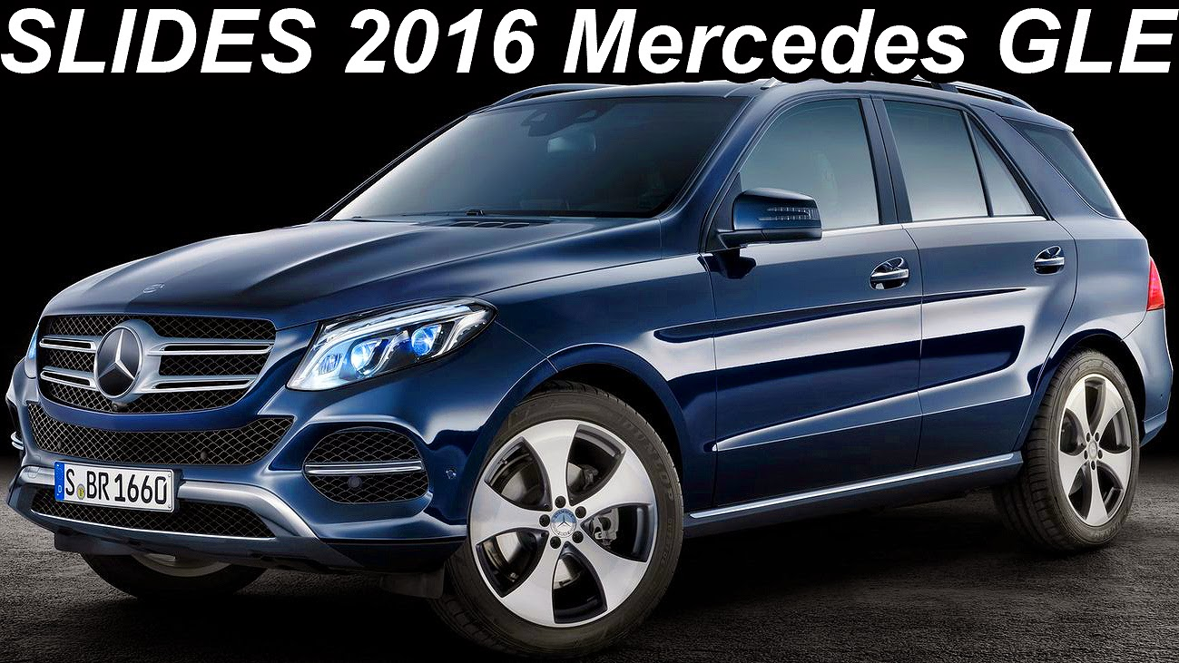 slides mercedes benz gle 2016 204 cv 585 cv carwp. Black Bedroom Furniture Sets. Home Design Ideas