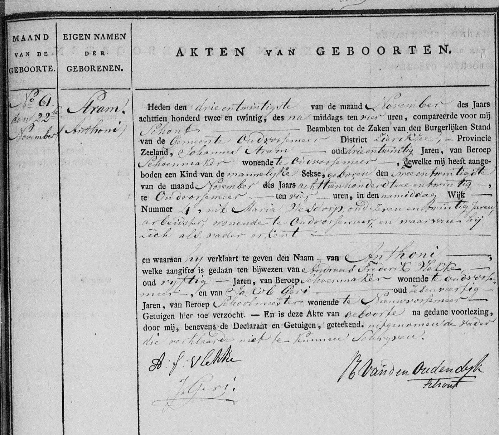 Interessante archiefvondsten de kinderen geboren 1818 1824 van maria wesdorp te oud vossemeer - Kind oud ...
