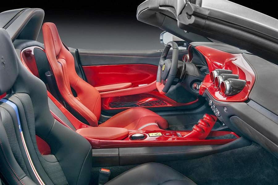 Ferrari F60America (2014) Interior