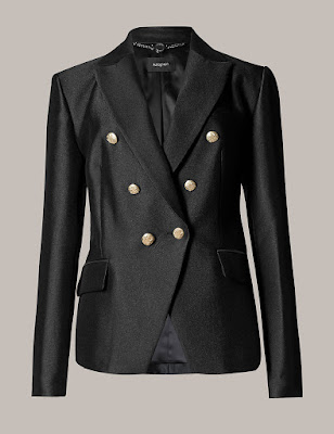 Marks and Spencer Tuxedo Military Jacket