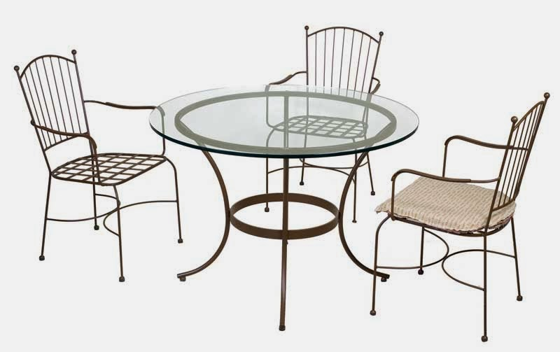 juego de mesas y sillas forja, mueble jardin terraza