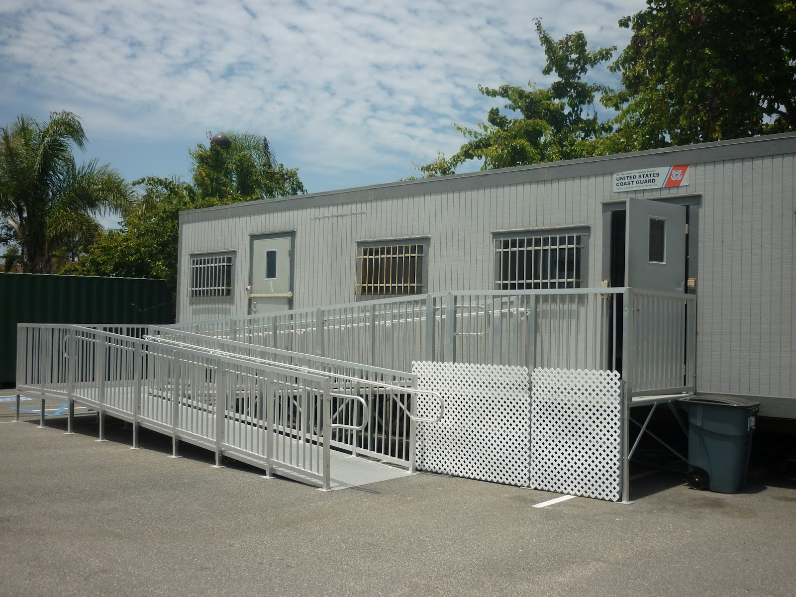 Where To Park Your Mobile Office Trailer - Mobile office trailer with bathroom