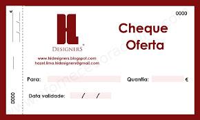 Cheque de Oferta