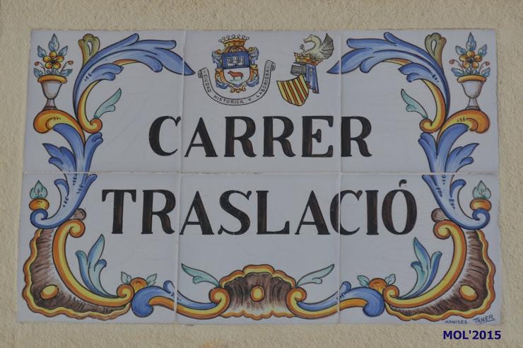 14.08.15 CARRER DE LA TRASLACIÓ EN MANISES