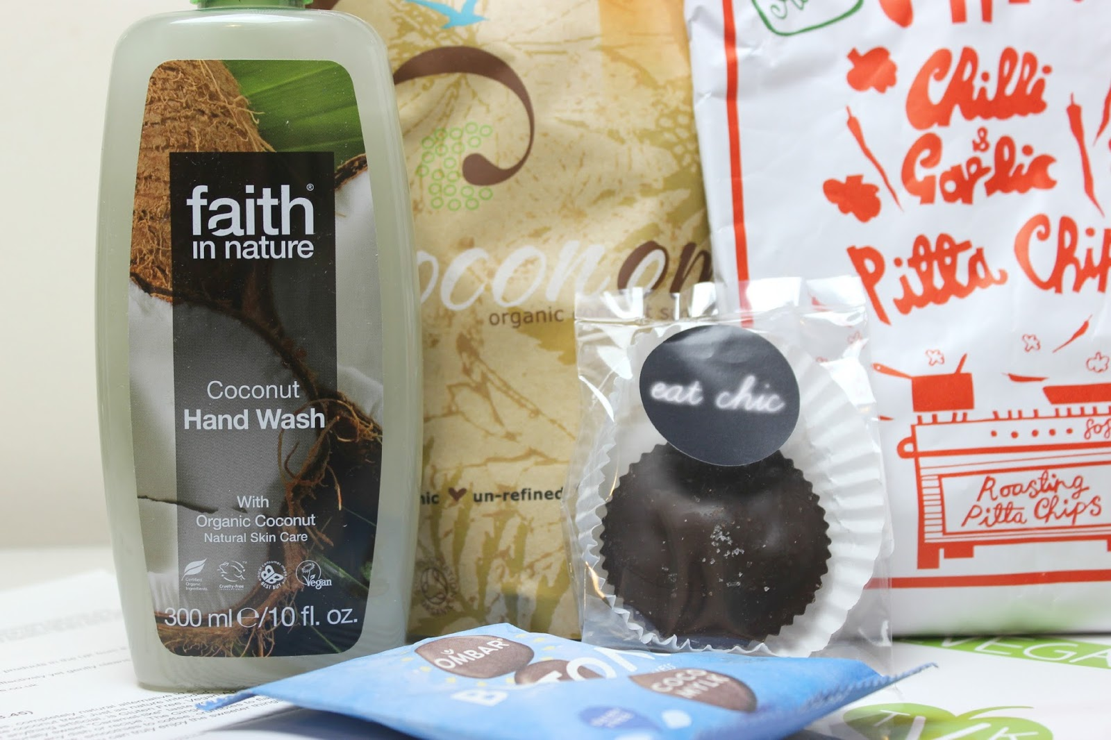 A picture of Faith in Nature Coconut Hand Wash