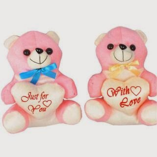 Buy Teddy Bears – Set of 2 Pieces Rs. 113 only at ShopClues.