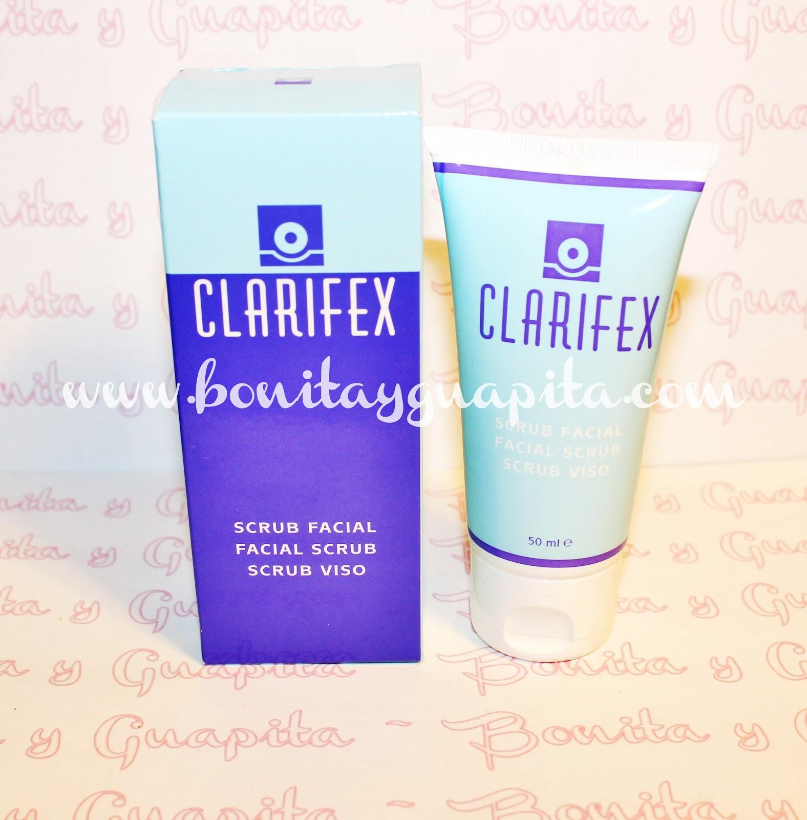 clarifex exfoliante