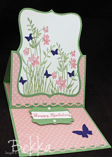 Just Believe Birthdat Card with Butterflies and Pearls