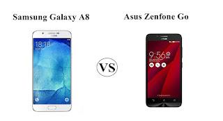 Harga Samsung Galaxy A8 vs Asus Zenfone Go, Tentukan Pilihanmu !