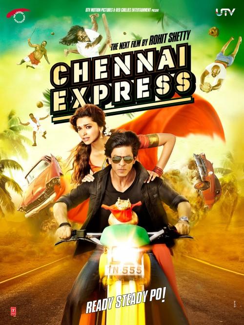 Shahrukh khan, Deepika, Chennai Express, Sharukh and Deepika
