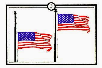 american flag display etiquette