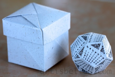 Holidays: Origami Gifts Ideas