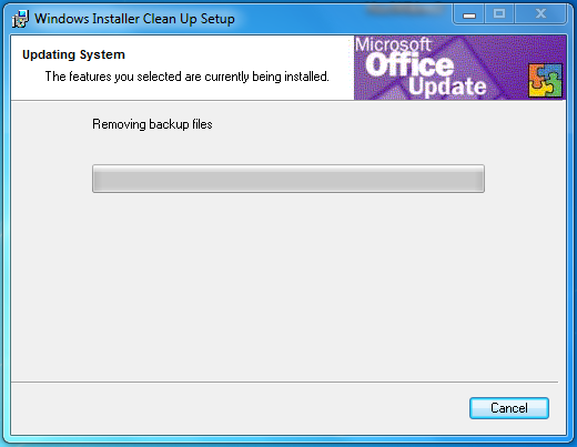 windows installer cleanup utility vista 64
