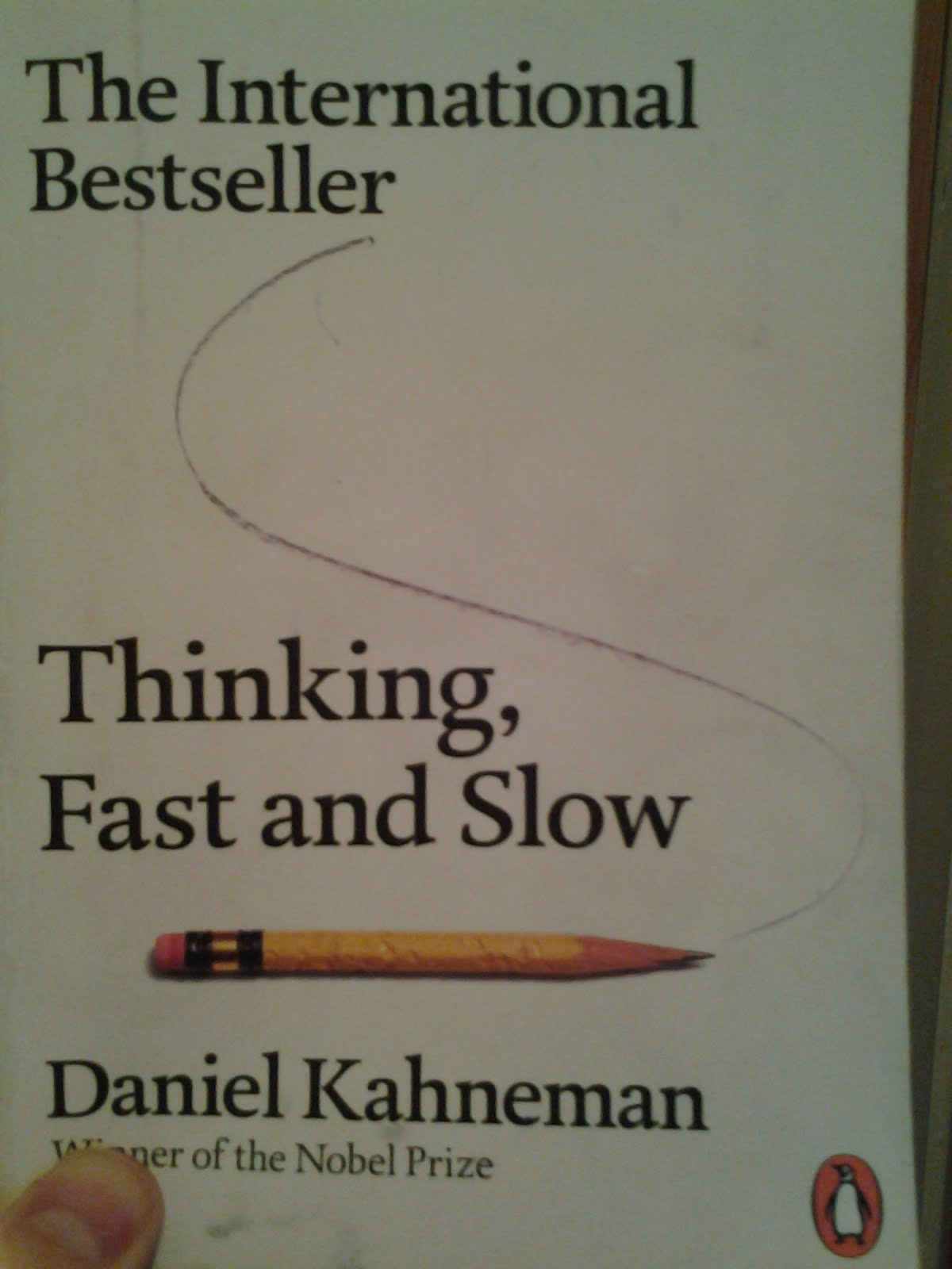 thinking fast and slow essay Thinking, fast and slow- book project thinking  more about thinking fast and slow by daniel kahneman essay slow food movement 719 words | 3 pages.