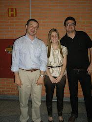 Alexandre Morais da Rosa, Carol Ramos e eu