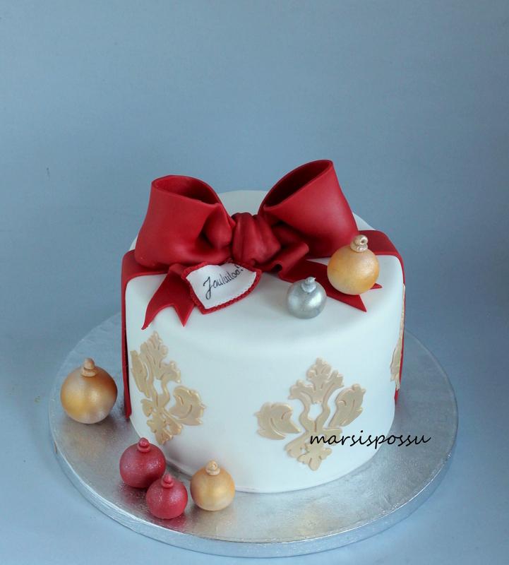 jouluinen kakku