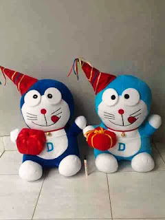 Gambar boneka doraemon party
