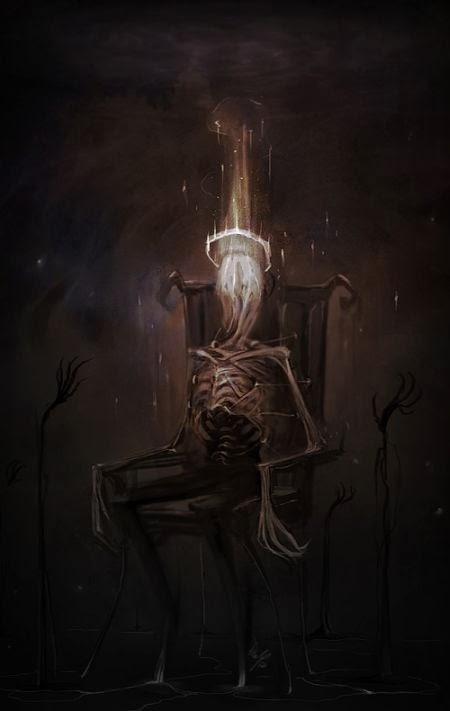 Damien Mammoliti damie-m deviantart illustrations dark fantasy terror